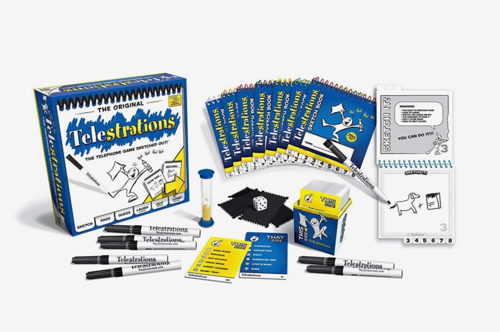Telestrations — the Telephone Game Sketched Out!